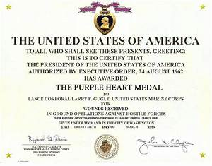 index of gugle images With purple heart citation template
