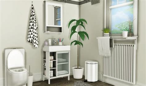 lillangen bathroom set  mxims  sims  updates check