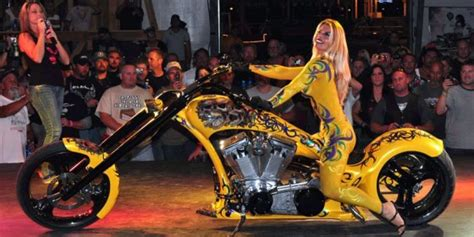Biker Babes Celebrate Sturgis Motorcycle Rally