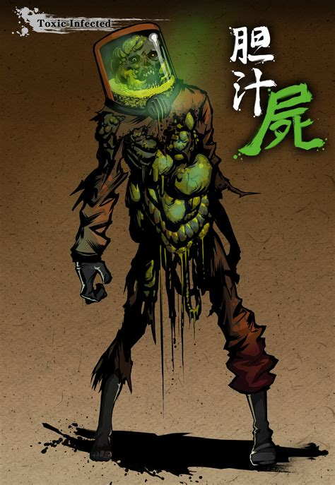 Zombie Toxic Infected | Video Games Artwork