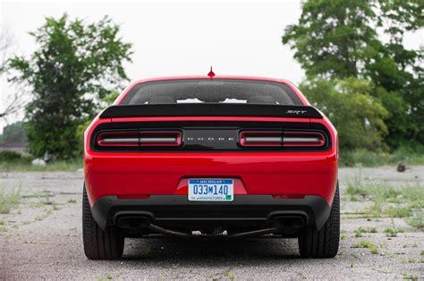 2018 Dodge Challenger Srt Hellcat Rear End Photo 12