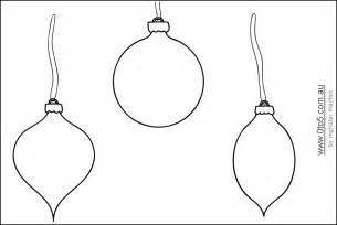 printable ornament shapes this template shows bauble blank to decorate and colour