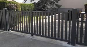 Portail Alu En Kit : portail box le portail sur mesure en kit monter soi ~ Edinachiropracticcenter.com Idées de Décoration