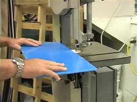 how to cut plexiglass on a table saw how to cut plastic sheet youtube