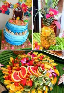 kara s party ideas luau party planning ideas supplies idea cake decorations hawaiian