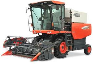 Kubota Rice Combine Harvester