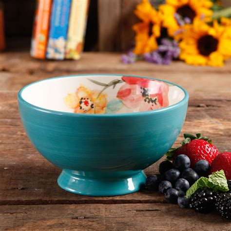 cuisine turquoise the pioneer adeline 10 oz glass sundae cups set of