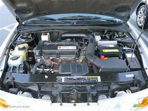 2001 Saturn S Series Sl2 Sedan Engine Photos