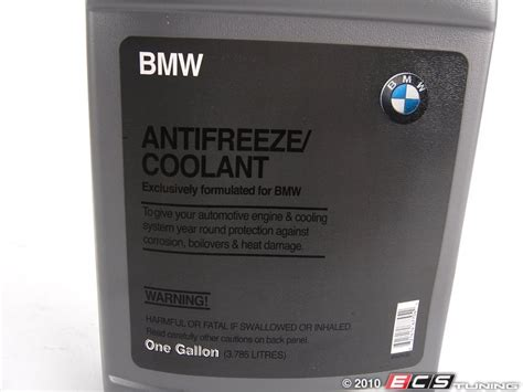 What Kind Of Coolant For Bmw