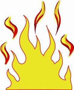 Flames Cartoon - Cliparts.co