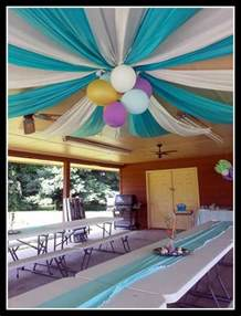 tent draping awesome balloon decorations 2017