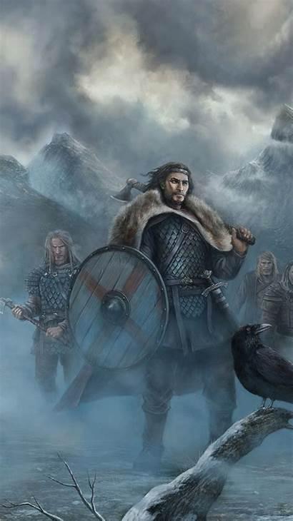 Viking Phone Vikings Fantasy Warrior Wallpapers Iphone