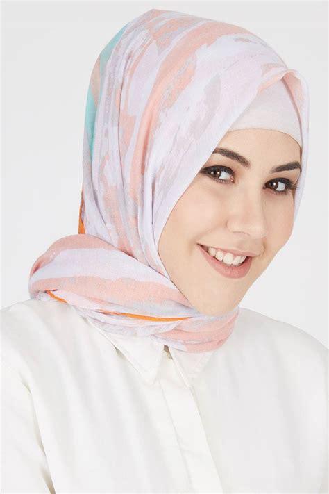 sell afra pashmina salmon hijab essential hijabenkacom