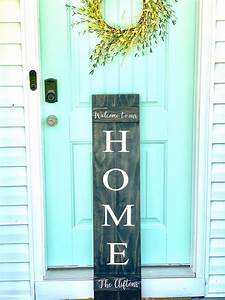 Custom, Front, Porch, Sign