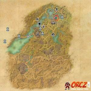 Eso  Bangkorai Treasure Map Ii