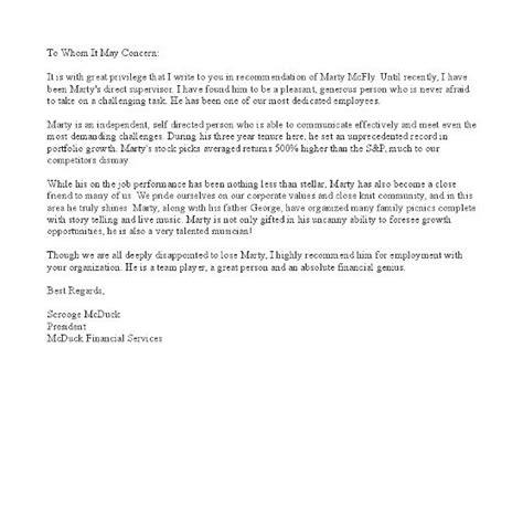 letter  recommendation   supervisor google search