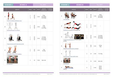 programme salle de musculation programme de musculation pour femme en salle de sport niveau d 233 butante musculation au f 233 minin