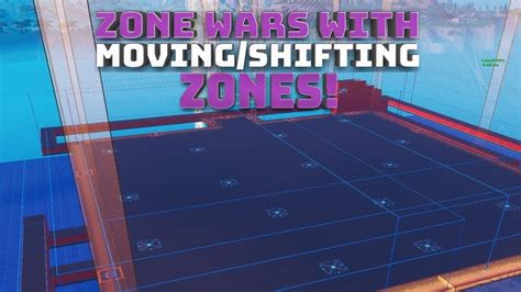 zone wars automated moving zones updated fortnite