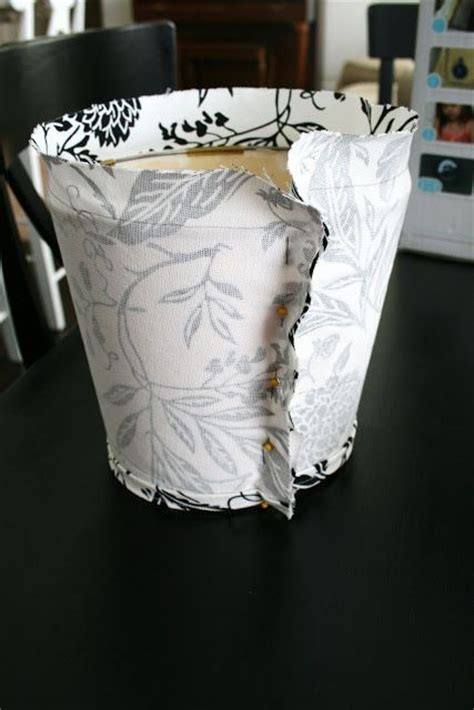 slip cover  lampshade tutorial interesting ideas