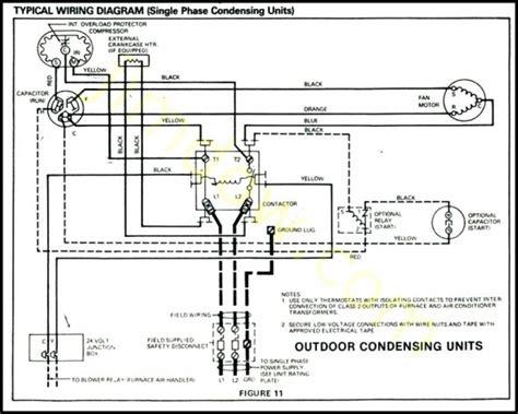 goodman condenser wiring diagram
