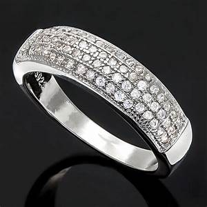 jewelryroomcom flawless created diamond 18k gold plated With german made wedding rings