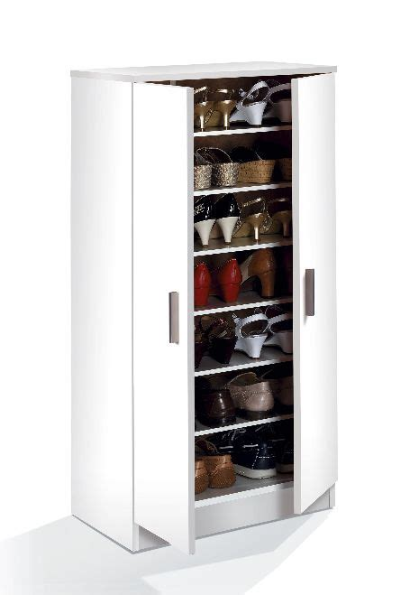 60 pair shoe cabinet naples white shoe storage cupboard cabinet with doors