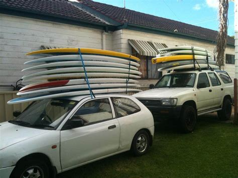paddle board roof rack how many stand up paddle boards can you fit on your roof