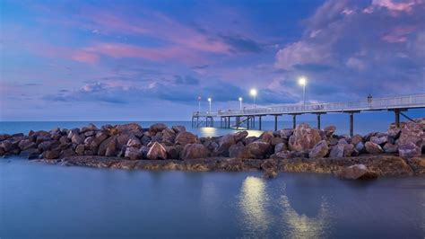 fishing florida pier sunset places evening standing wallpapers territory reasons northern australia amazing visit darwin nights tropical hd resolution
