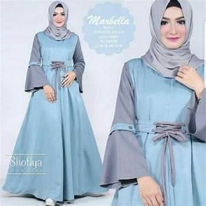 Jual model baju muslim gamis terbaru dan modern LD ...