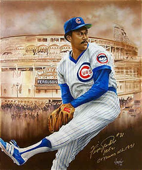 fergie jenkins chicago cubs poster photo pitcher