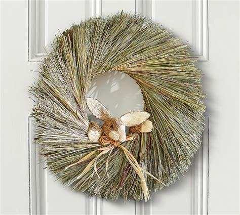pottery barn wreath easter bunny wreath pottery barn