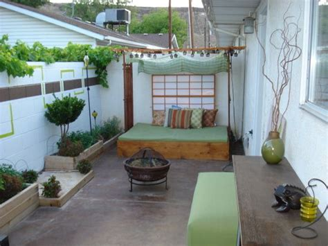 ideas for small condo patios house made of paper