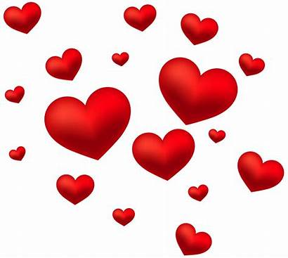 Hearts Transparent Clip Clipart Decoration Valentine Heart