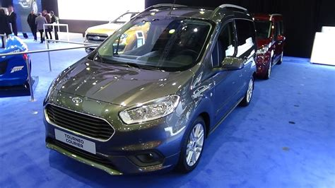 ford tourneo courier 2018 2018 ford tourneo courier exterior and interior auto show brussels 2018