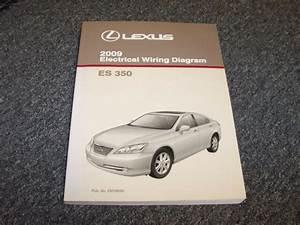 2009 Lexus Es350 Sedan Factory Original Electrical Wiring