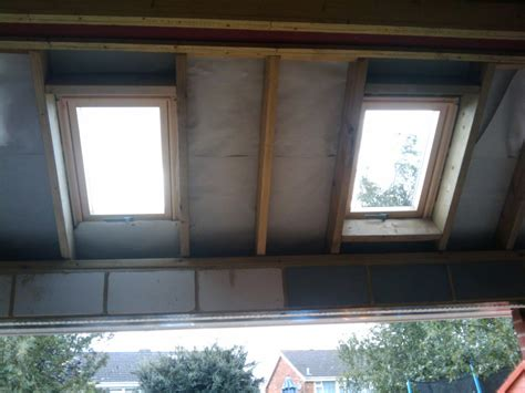 Insulating A Vaulted Ceiling Uk by Insulating The Vaulted Ceiling Roof My Extension