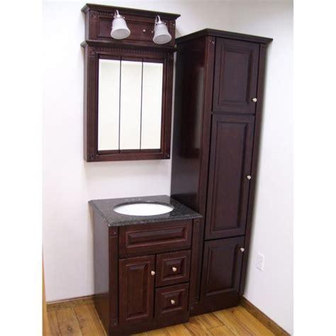 four heritage cherry bathroom set