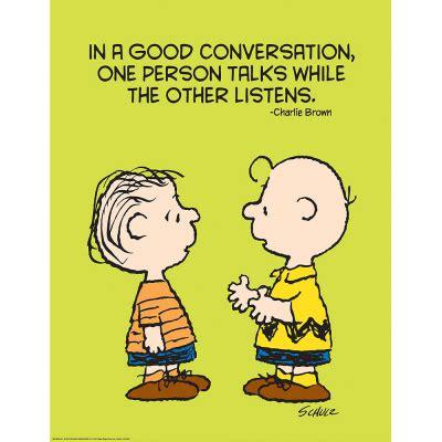 peanuts talk  listen school posters eureka school