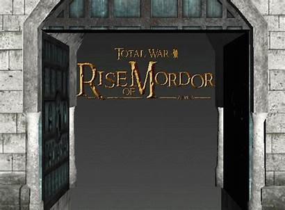 Gondor Gates Fort Total War Mordor Rise