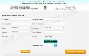 Document Pour Immatriculer Un Véhicule : douane formulaire de souscription du titre de passage en douane alg rie ~ Gottalentnigeria.com Avis de Voitures