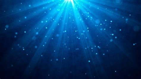 Light Background Blue Lights Particles Motion Background Loop Motion