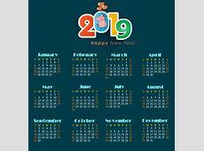 2017 2018 2019 calendar free vector download 1,638 Free