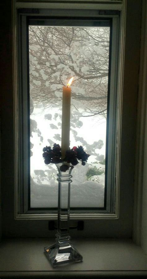 windows candles window
