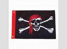 Jolly Roger Applique Pirate Flag World of Windsocks
