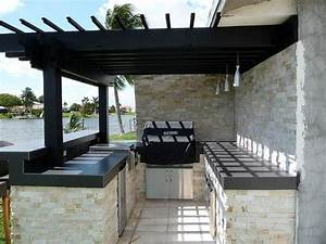 pergola design ideas pergola outdoor kitchen stacked stone With outdoor kitchen designs with pergolas
