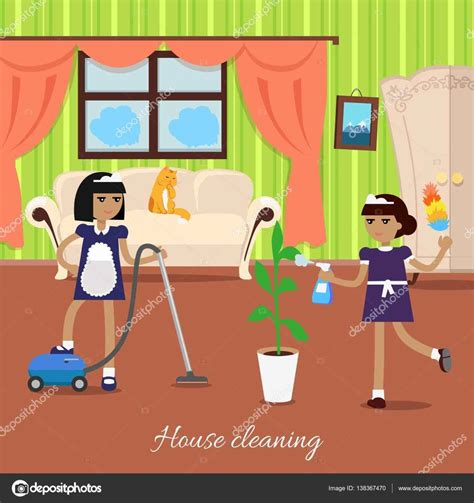 Cleaning Living Room Clipart Datenlaborinfo