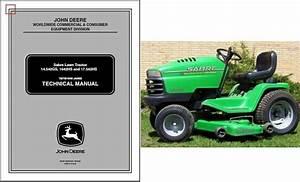 John Deere Sabre 17 542hs Lawn And Garden Tractor Service