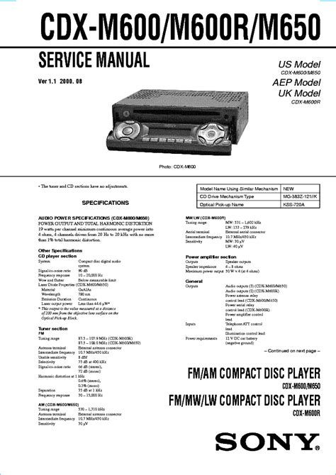 wiring diagram this is the of sony cdx r car pictures