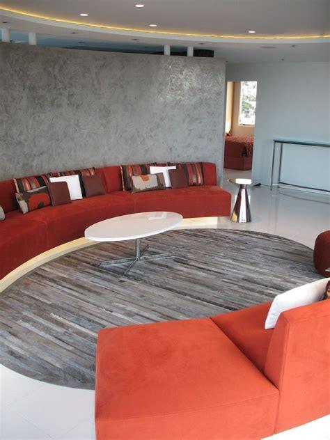 canapé demi rond canapé demi lune et canapé rond 55 designs spectaculaires