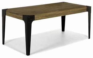 Table Industrielle Alinea : table bark industriel table manger autres p rim tres par alin a mobilier d co ~ Teatrodelosmanantiales.com Idées de Décoration